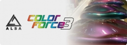 ALSA カラーフォース3 ColorForce3  1クォートキット